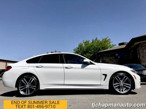 2019 BMW 4 Series for sale at TJ Chapman Auto in Salt Lake City UT