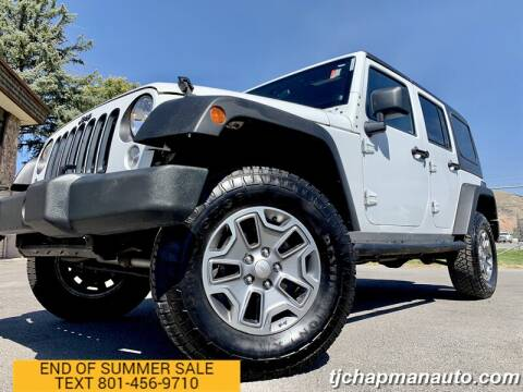 2014 Jeep Wrangler Unlimited for sale at TJ Chapman Auto in Salt Lake City UT