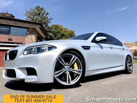 2016 BMW M5 for sale at TJ Chapman Auto in Salt Lake City UT