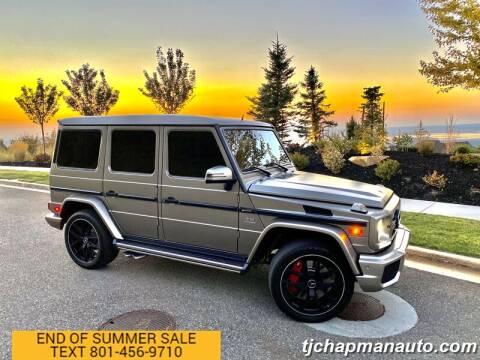 2016 Mercedes-Benz G-Class for sale at TJ Chapman Auto in Salt Lake City UT