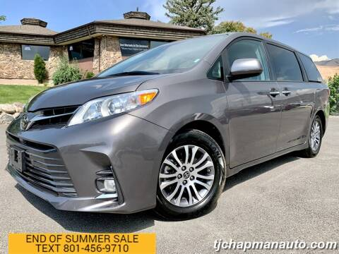 2020 Toyota Sienna for sale at TJ Chapman Auto in Salt Lake City UT