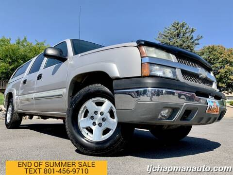 2004 Chevrolet Silverado 1500 for sale at TJ Chapman Auto in Salt Lake City UT