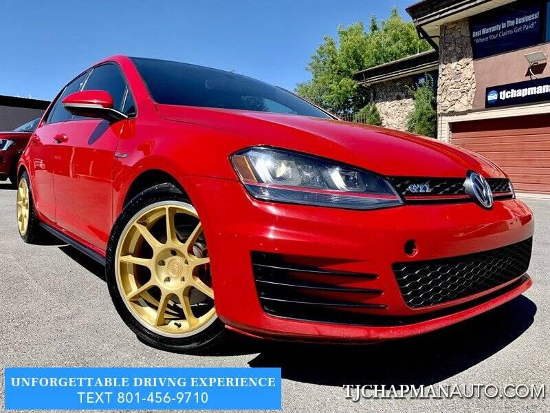 2015 Volkswagen Golf GTI for sale at TJ Chapman Auto in Salt Lake City UT
