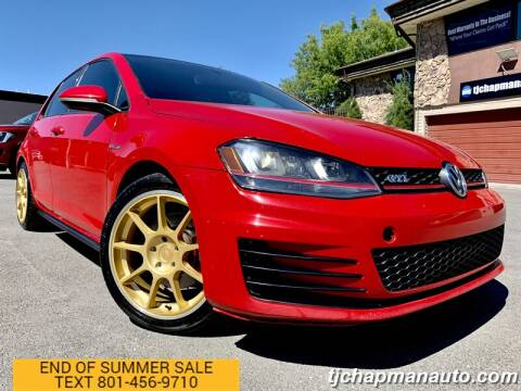 2015 Volkswagen Golf GTI for sale at TJ Chapman Auto in Salt Lake City UT