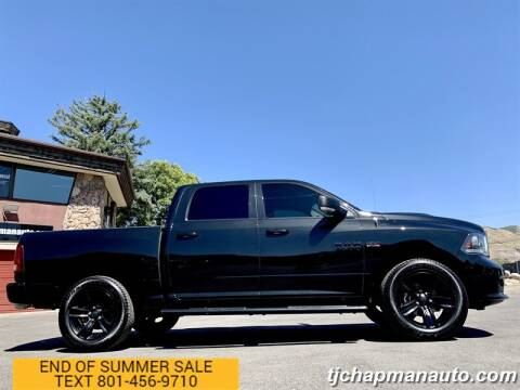 2017 RAM Ram Pickup 1500 for sale at TJ Chapman Auto in Salt Lake City UT
