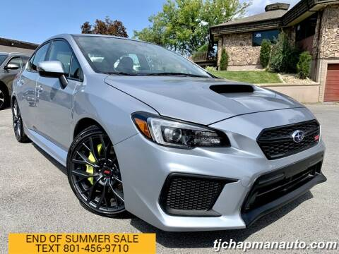 2018 Subaru WRX for sale at TJ Chapman Auto in Salt Lake City UT