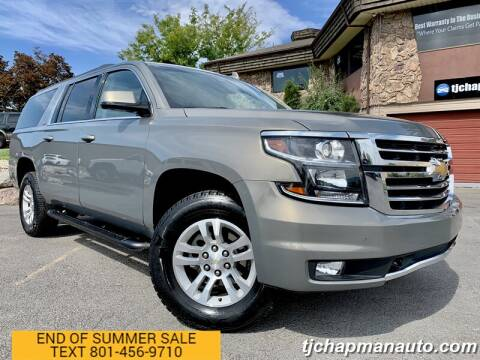 2018 Chevrolet Suburban for sale at TJ Chapman Auto in Salt Lake City UT