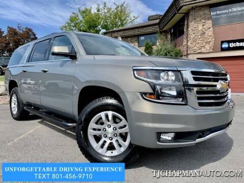2018 Chevrolet Suburban for sale at TJ Chapman Auto in Salt Lake City UT