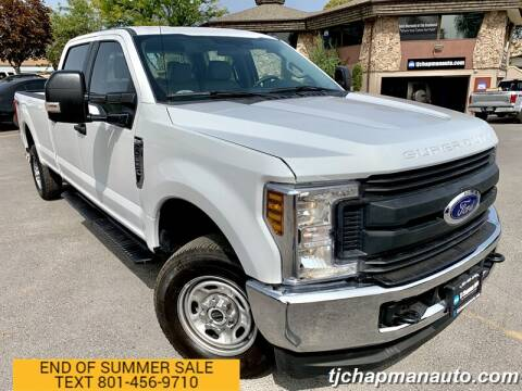 2019 Ford F-250 Super Duty for sale at TJ Chapman Auto in Salt Lake City UT