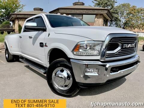 2018 RAM Ram Pickup 3500 for sale at TJ Chapman Auto in Salt Lake City UT