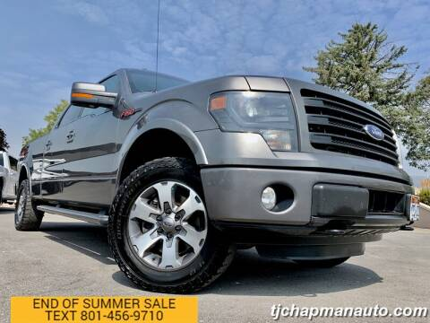 2014 Ford F-150 for sale at TJ Chapman Auto in Salt Lake City UT