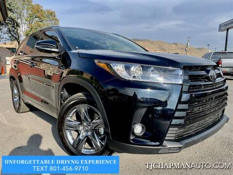 2019 Toyota Highlander for sale at TJ Chapman Auto in Salt Lake City UT