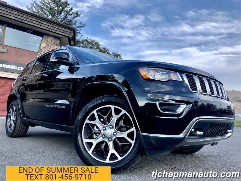 2018 Jeep Grand Cherokee for sale at TJ Chapman Auto in Salt Lake City UT