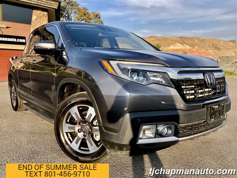 2019 Honda Ridgeline for sale at TJ Chapman Auto in Salt Lake City UT
