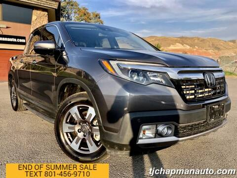 2019 Honda Ridgeline for sale at TJ Chapman Auto in Salt Lake City UT