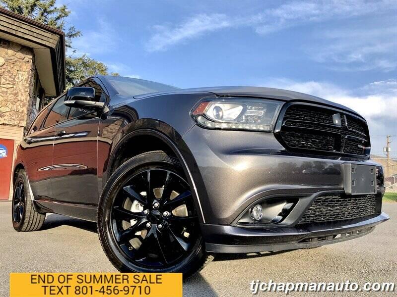2018 Dodge Durango for sale at TJ Chapman Auto in Salt Lake City UT