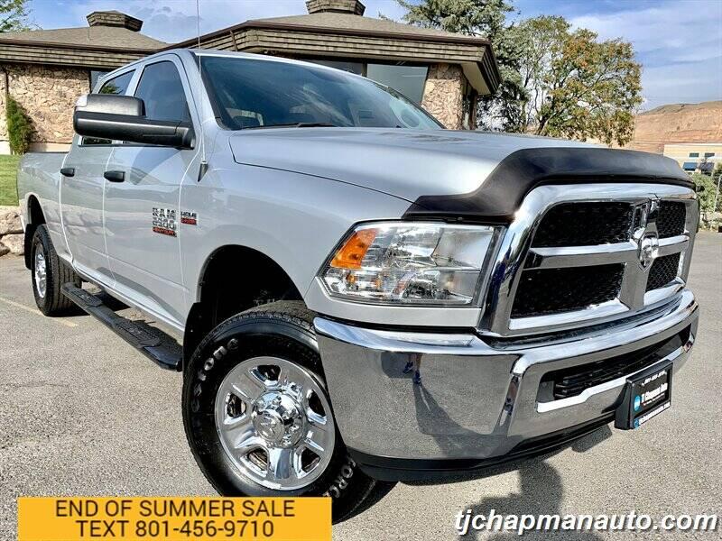 2018 RAM Ram Pickup 2500 for sale at TJ Chapman Auto in Salt Lake City UT