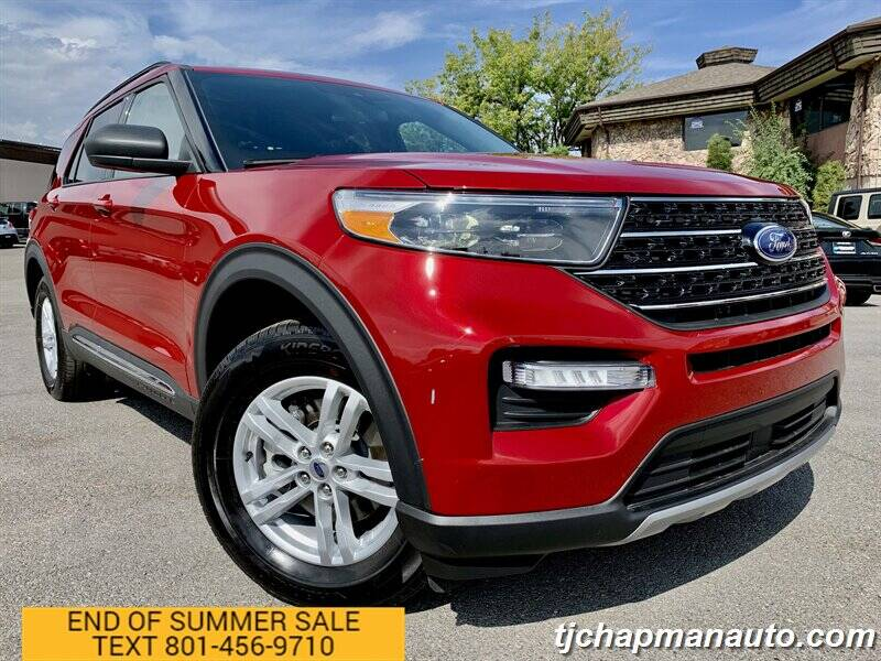 2020 Ford Explorer for sale at TJ Chapman Auto in Salt Lake City UT