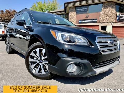 2017 Subaru Outback for sale at TJ Chapman Auto in Salt Lake City UT