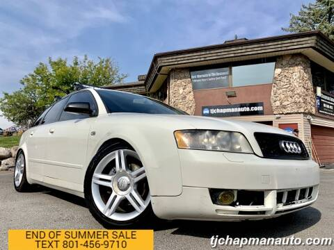 2005 Audi A4 for sale at TJ Chapman Auto in Salt Lake City UT