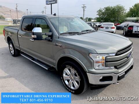 2019 Ford F-150 for sale at TJ Chapman Auto in Salt Lake City UT