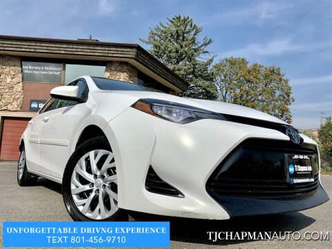 2017 Toyota Corolla for sale at TJ Chapman Auto in Salt Lake City UT