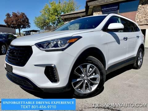 2017 Hyundai Santa Fe for sale at TJ Chapman Auto in Salt Lake City UT