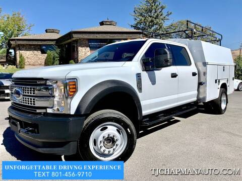2019 Ford F-550 Super Duty for sale at TJ Chapman Auto in Salt Lake City UT