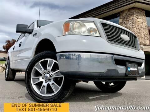 2006 Ford F-150 for sale at TJ Chapman Auto in Salt Lake City UT
