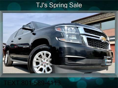 2015 Chevrolet Suburban for sale at TJ Chapman Auto in Salt Lake City UT