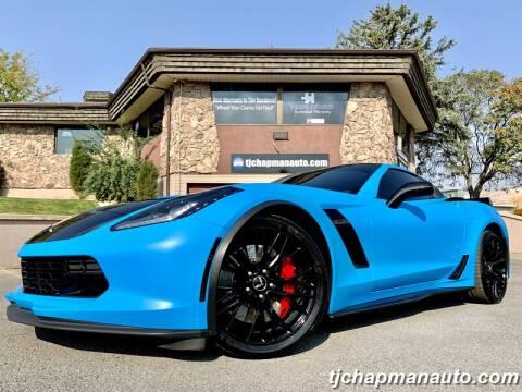 2015 Chevrolet Corvette for sale at TJ Chapman Auto in Salt Lake City UT