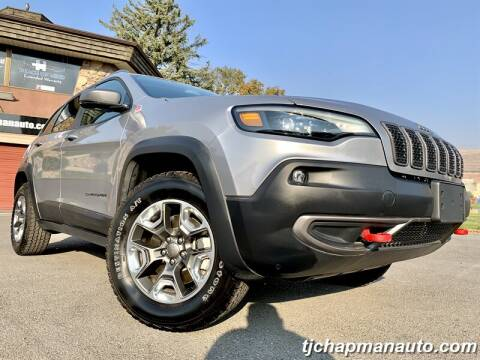2019 Jeep Cherokee for sale at TJ Chapman Auto in Salt Lake City UT