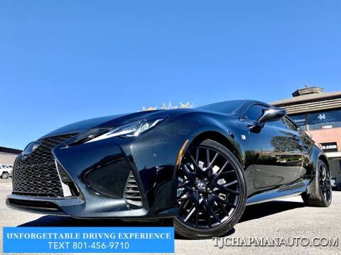 2019 Lexus RC 300 for sale at TJ Chapman Auto in Salt Lake City UT