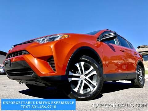 2016 Toyota RAV4 for sale at TJ Chapman Auto in Salt Lake City UT