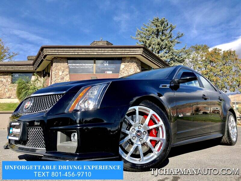 2014 Cadillac CTS-V for sale at TJ Chapman Auto in Salt Lake City UT