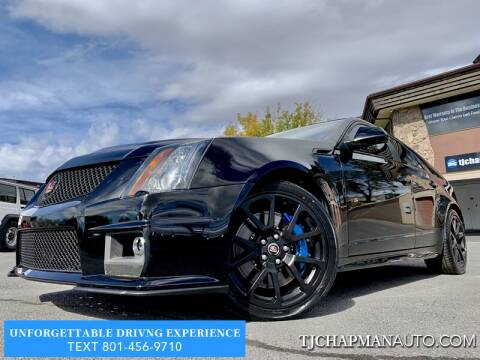 2012 Cadillac CTS-V for sale at TJ Chapman Auto in Salt Lake City UT