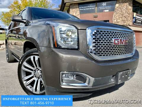 2019 GMC Yukon XL for sale at TJ Chapman Auto in Salt Lake City UT