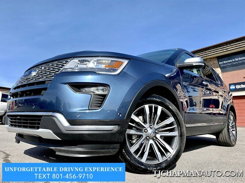 2018 Ford Explorer for sale at TJ Chapman Auto in Salt Lake City UT