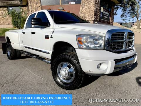 2009 Dodge Ram Pickup 3500 for sale at TJ Chapman Auto in Salt Lake City UT