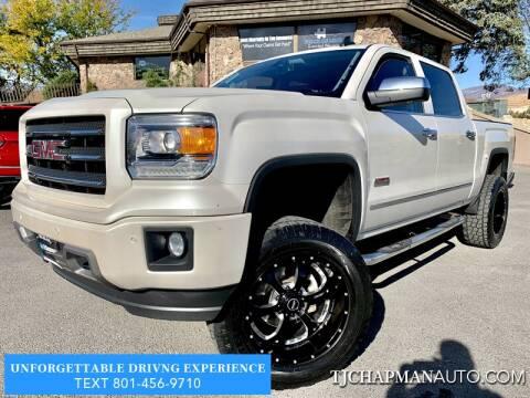 2015 GMC Sierra 1500 for sale at TJ Chapman Auto in Salt Lake City UT