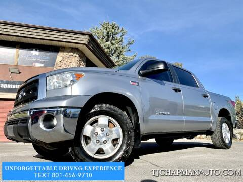 2013 Toyota Tundra for sale at TJ Chapman Auto in Salt Lake City UT