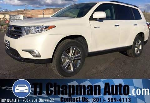 2013 Toyota Highlander for sale in Salt Lake City, UT