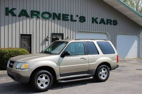 2003 Ford Explorer Sport for sale in Paris, TN
