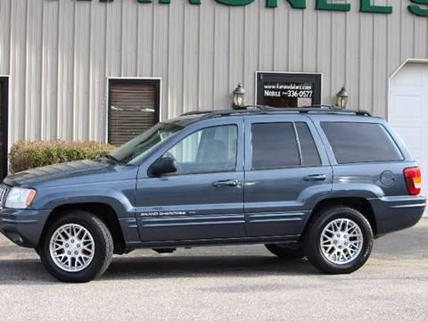 2003 Jeep Grand Cherokee for sale in Paris, TN