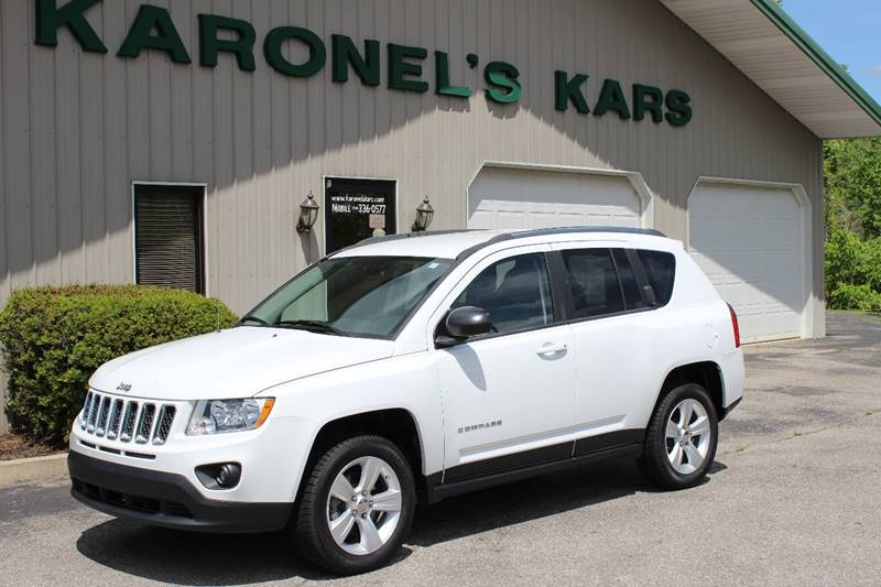 2012 Jeep Compass for sale at Karonels Kars in Paris TN