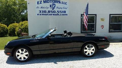 2002 Ford Thunderbird for sale in Deerfield, OH