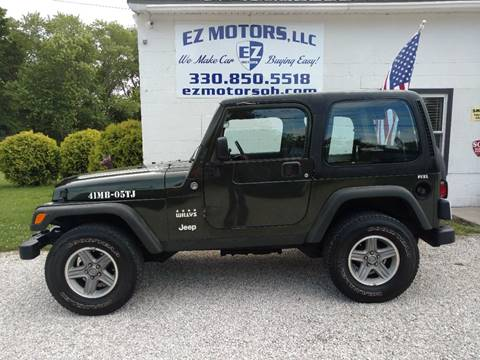 2005 Jeep Wrangler for sale in Deerfield, OH