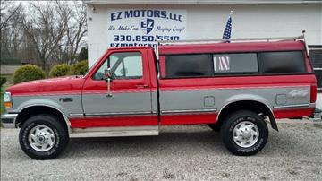 1995 Ford F-250 for sale in Deerfield, OH
