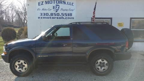 2000 Chevrolet Blazer for sale in Deerfield, OH