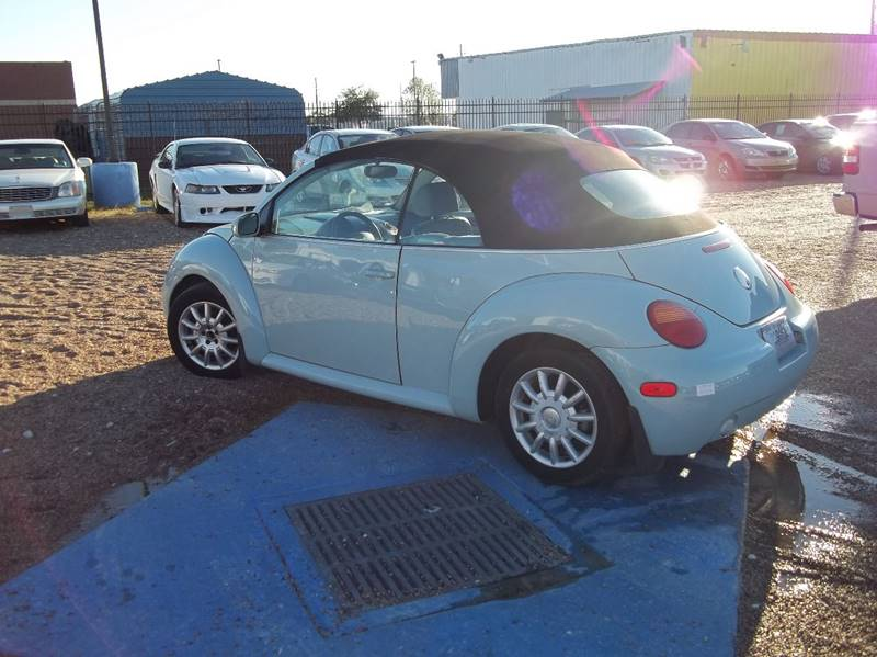 2004 Volkswagen New Beetle GLS 2dr Convertible - Houston TX